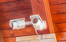 Установить камеру видеонаблюдения на даче