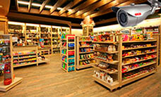 Установка видеонаблюдения для магазина