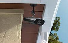 Установка камер видеонаблюдения дома