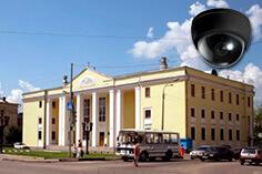 Видеонаблюдение в Климовске